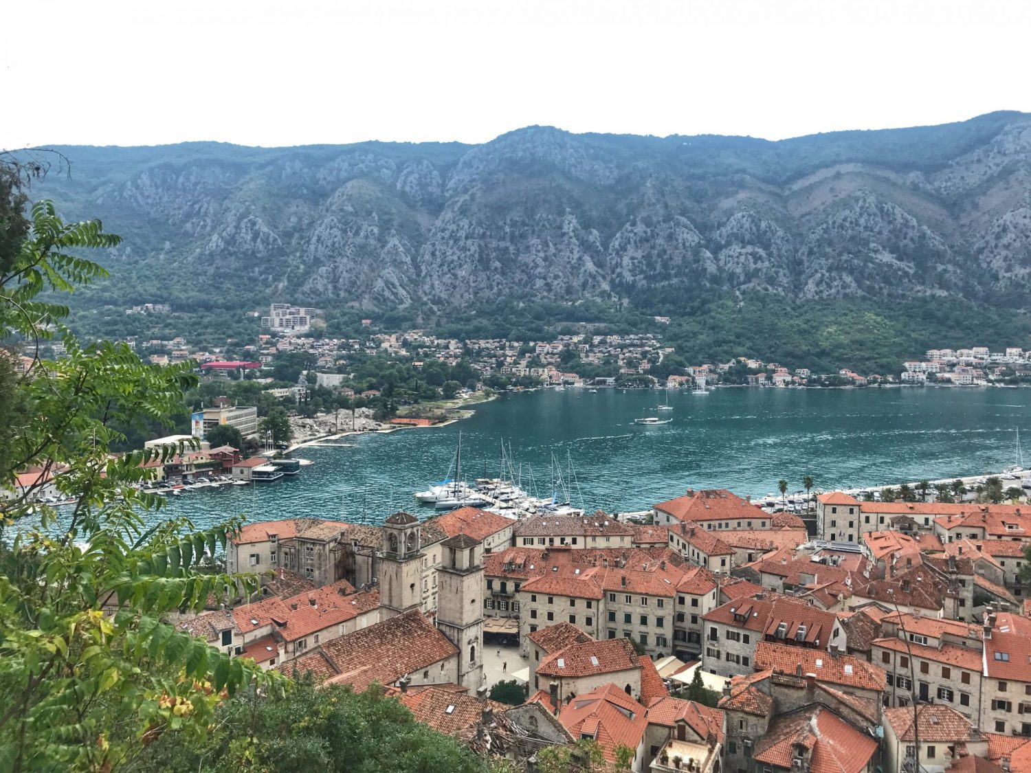 The best views in Montenegro