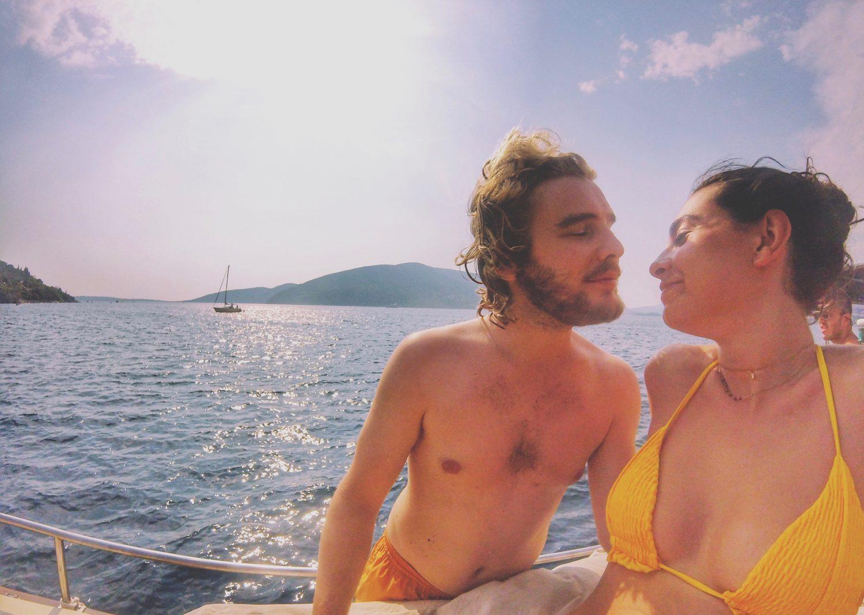 Boka Bay boat tour Montenegro