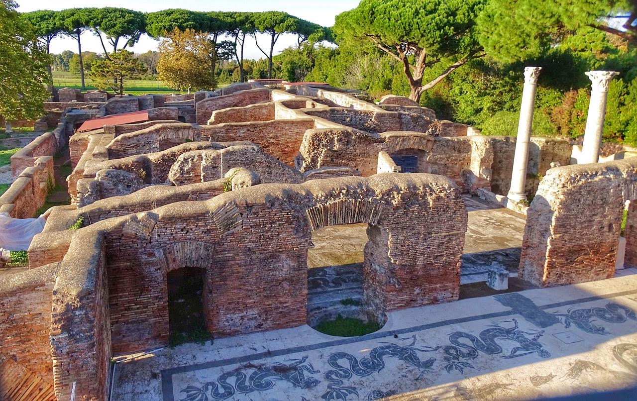 Day trips from Rome: Ostia Antica