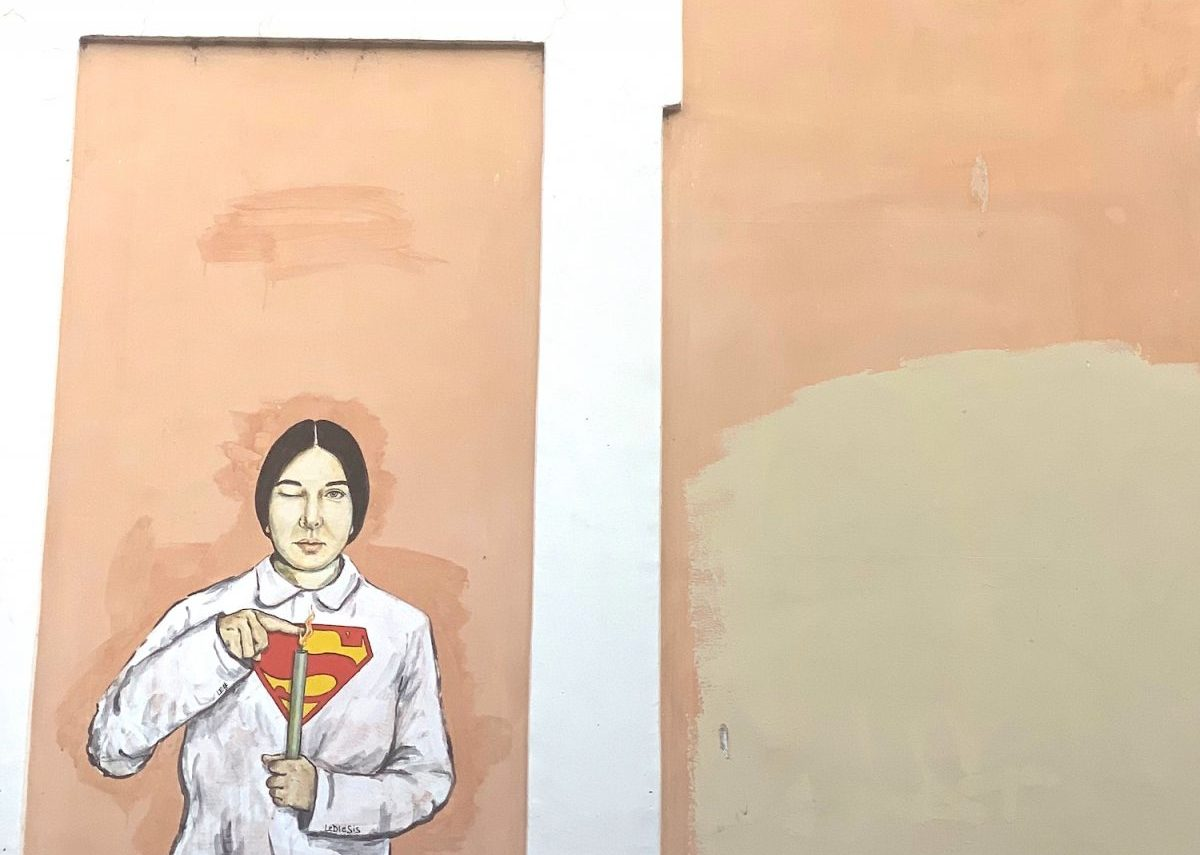 Lediesis: the street artist that empowers women